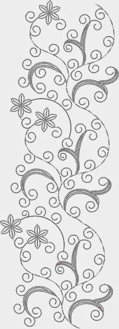 Indiese dekoratiewe Oral patroon