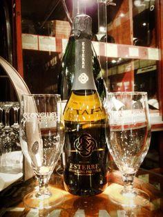 At Gibney's, Malahide. Stonewell cider,  Esterre Sparkling Prestige