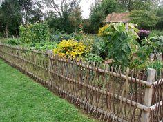 Fencing veggie plot