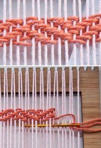 Herringbone Weave Video | The Weaving Loom