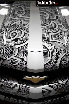 Wow! Incredible!!  Pinstripe Chris: Sharpie Car Gallery