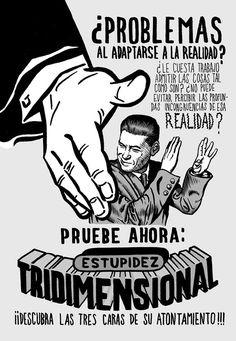 Estupidez tridimensional (Miguel Brieva)