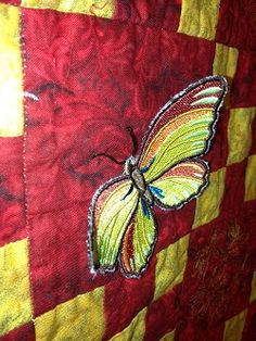 Embroidery It: Machine Embroidery Butterfly Quilt