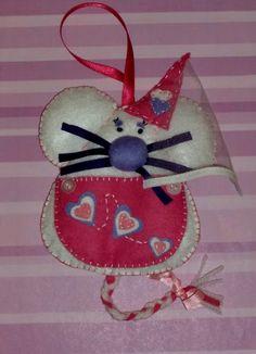 El rincón de Manora: La ratona de corazones