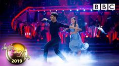 Karim and Amy Couple's Choice Contemporary to Drops of Jupiter - Week 10 Chris Ramsey, Gorka Marquez, Shirley Ballas, Eastenders Actresses, Bbc Strictly Come Dancing, Claudia Winkleman, Alex Scott, Drops Of Jupiter, Michelle Visage