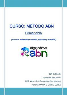 curso METODO ABN PRIMER CICLO.pdf