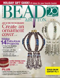 Creative beading vol 6 by editors of bead magazine httpwww creative beading vol 6 by editors of bead magazine httpamazondp0871164191refcmswrpidphalwrb0jqsb70 beading books pinterest fandeluxe Images