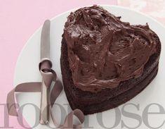 Beste, maklikste sjokoladekoek!   rooi rose
