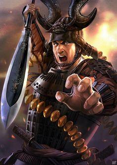 """本日9月15日は""""関ヶ原""""合戦の日!映画「関ヶ原」と「信長の野望」シリーズのコラボ企画として「上司にしたい戦国武将ランキング」が公開 Kabuto Samurai, Ronin Samurai, Samurai Warrior, Warrior 1, Japanese Tattoo Art, Japanese Tattoo Designs, Japanese Art, Nobunaga's Ambition, The Last Samurai"""