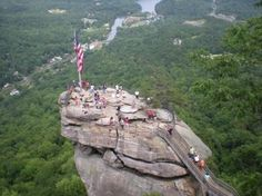 Asheville NC... Chimney Rock Park...lots to see