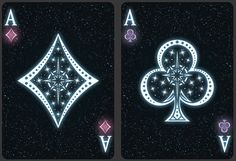 Bicycle Starlight Black Hole Playing Cards by Collectable Playing Cards — Kickstarter