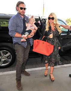 Jessica Simpson, husband Eric Johnson, and their daughter Maxwell