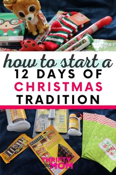 How To Start Your Own 12 Days of Christmas Tradition. These free printables and tips to start your own twelve days of Christmas with your families are so fun! Love these inexpensive gift ideas and cute wrapping hacks to make the holidays special. Christmas Tree Game, Inexpensive Christmas Gifts, Christmas Gifts For Coworkers, Christmas Couple, Christmas Gifts For Kids, Christmas Countdown, Christmas Sweets, Inexpensive Gift, Christmas Deco
