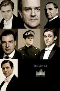 The men of downton abbey