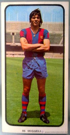 Cromo Doble Nº 86 Migueli 1973 1974 Ruiz Romero 73 74 Barcelona / todocoleccion
