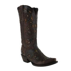 Lucchese Women's Studded Scarlette Western Boots