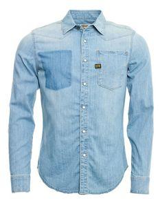 94eaf9d76a8a2 G-Star Denim Shirt Gstar, Vintage Denim, Denim Shirt, Vintage Jeans,