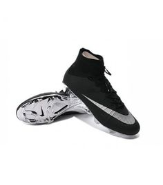new product 2e7aa d1f4a Nike Mercurial Superfly nike white and black soccer cleat,nike store soccer  boot,nike soccer boots for sale. tyra zika · crampons de foot pas cheres