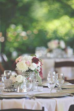Classic silver & bling #cedarwoodweddings Cedarwood Nashville Destination Wedding   Cedarwood Weddings