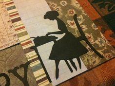 My Story Girl Readymade Genealogy Scrapbook Page Set by Rockester   eBay