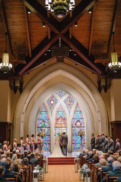 Gray And Pink Le Lights Wedding