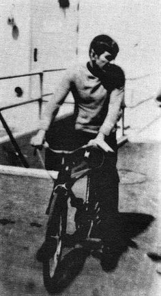 Leonard's famous bike that Bill Shatner had fun hiding it from him.