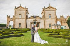 Glasgow Wedding Venue | This is Chatelherault near Hamilton just south of Glasgow.  A truly magnificent place to get married.