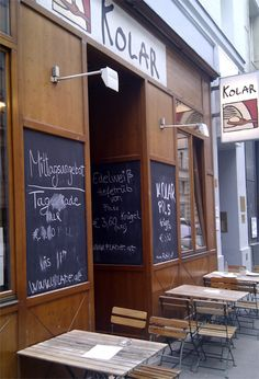 Kolar in Vienna, Austria- great beer and Fladen sandwiches