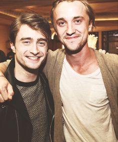 Daniel Radcliffe & Tom Felton