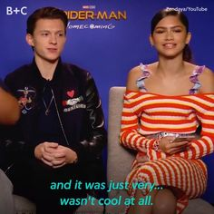 Zendaya and Tom Holland have an adorable friendship! Zendaya and Tom Holland have an adorable friendship! Avengers Humor, Funny Marvel Memes, Dc Memes, Marvel Jokes, Zendaya Coleman, Marvel Actors, Marvel Avengers, Brooklyn Nine, Tom Holland Zendaya