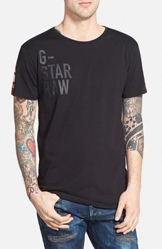 G-Star Raw 'Ramiton' Graphic T-Shirt available at #Nordstrom