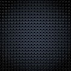 Pixel accurate grid texture with circular pattern vector art illustration