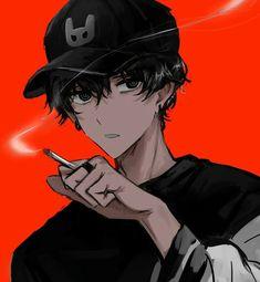 Anime Oc, Anime Eyes, Dark Anime, Fantasy Character Design, Character Art, Anime Gangster, Anime Boy Hair, Gamers Anime, Image Manga
