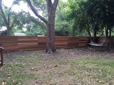 6'H Horizontal Board-on-Board Cedar Privacy Fence   Visit www.fence4atx.com to see more great ideas for your new fence