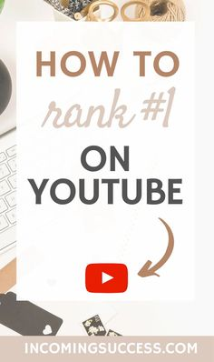 If you just started your own Channel on Youtube, this video is surely for you!  I will show you how to rank #1 on Youtube & how you can get more subscribers - Watch the video on my Youtube Channel for more informations about this thing!  #youtubetips #youtuberank #youtubegrowth Content Marketing, Online Marketing, Social Media Marketing, Marketing Strategies, Seo Marketing, Marketing Ideas, Business Branding, Business Tips, Online Business