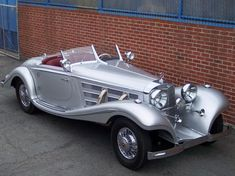 1935 Mercedes-Benz 540K Fully Restored With New Special Roadster Longtail Body