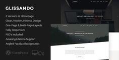 Glissando - Creative One Page Multipurpose Theme - Creative WordPress