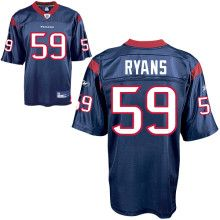 DeMeco Ryans Jersey, #59 Houston Texans Authentic NFL Jersey in Team Color