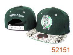 NBA Boston Celtics Snapback Hats Caps Snakeskin Green Mitchell And Ness 1989 only US$8.90