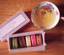 box, cookies, cup, cute, floral, france (Full Size)