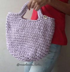 My Bags, Straw Bag, Fashion, Crocheted Purses, Crochet Purses, Templates, Olive Tree, Nighty Night, Trapillo