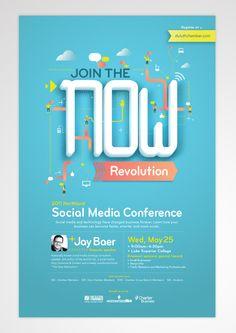 The Now Revolution by Jacob Boie, via Behance