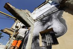Stunning Street Art From The Havana Biennial: 'Wrinkles Of The City' THESE R AWESOME