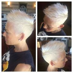 12.Blonde Pixie Cut