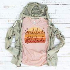 Gratitude Not Attitude Shirt