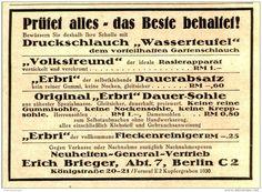 Original-Werbung/ Anzeige 1934 - NEUHEITEN GENERAL-VERTRIEB BRIEGER - BERLIN - Ca. 100 X 75 Mm - Werbung