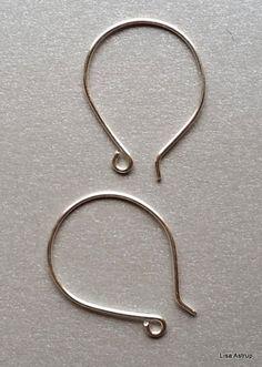 Silver+ear+wires,+2,8+cm+hoop+earwire,++from+Die+Asta+by+DaWanda.com