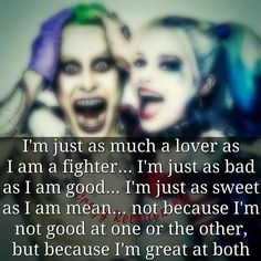 I love this quote it reminds me of myself on god days Bitch Quotes, Sassy Quotes, Badass Quotes, Girl Quotes, Woman Quotes, Funny Quotes, Harley Quin Quotes, Joker Quotes, Harley And Joker Love