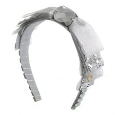 Headband by Sereni Bow Down in Silver. Made in Borneo. Shop here: http://sereniandshentel.com/products/adult/bow-down-silver/ $69