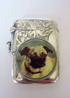 Antique Sterling Silver Vesta Case/Match Safe by MaisonDogLondon, £150.00